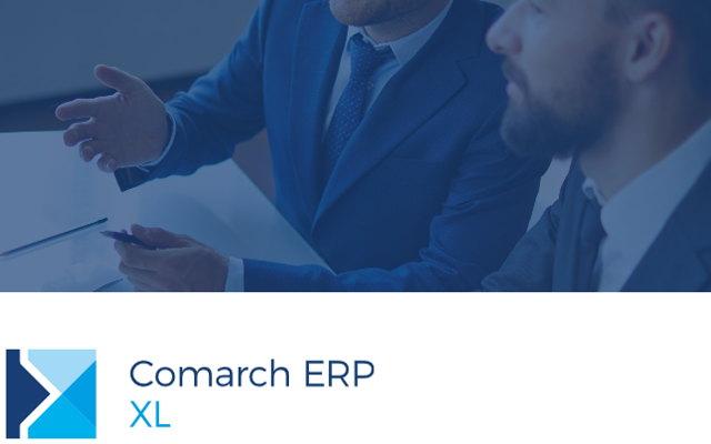 Nowa wersja Comarch XL 2017.1