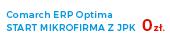Comarch Optima - pakiet dla mikrofirmy z JPK za darmo