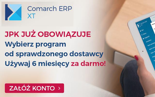 Comarch ERP XT - Program z obsługą JPK